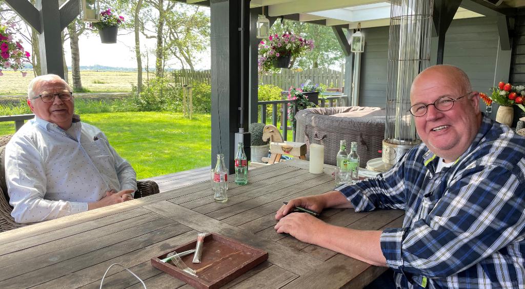 Ron van Eerden en Ed van Delden