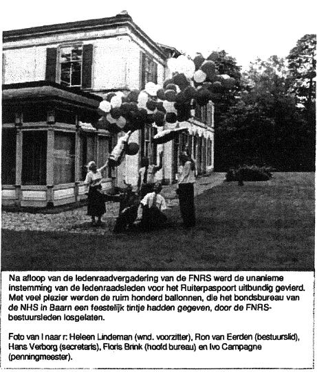 Artikel uit de FNRS koerier van juli 2000